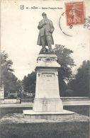 86. DIJON . STATUE FRANCOIS RUDE . AFFR SUR RECTO EN 1910 - Dijon