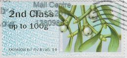 GB 2014 Winter Greenery 2nd Type 2 Used Code 005008 [32/134/ND] - Great Britain