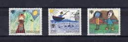 """ILES FEROE 1979 N° 39 à 41 """" ANNEE DE L'ENFANT """" NEUFS ** MNH En Parfait état - Färöer Inseln"""