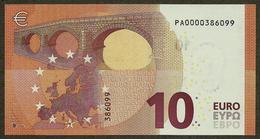 Netherlands - 10 Euro - P001 A1 - PA0000386099 - Draghi - Circulated - EURO