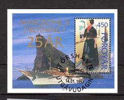 """FEROE 1997 N° YT BF N° 9 Oblitéré : """" REINE MARGRETHE II """". Parfait état. - Faroe Islands"""