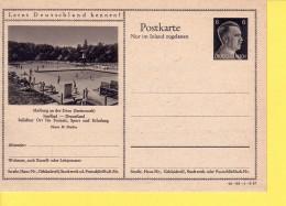 GERMANIA  REICH  - POSTKARTE -  LERNT DEUTSCHLAND FENNEN -   HITLER  - MARBURG  NON  VIAGGIATA - Allemagne
