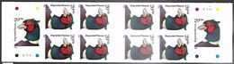 US  1998   Sc#BK242A  3050a  Complete Booklet Of 10 20c Pheasants   MNH**  Face $2 - Booklets