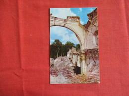 Guatemala   Ruins De La Recoleccion Stamp & Cancel  Ref 2909 - Guatemala