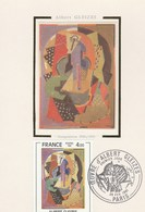 CARTE 1er JOUR  1981  ALBERT GLEIZES  PARIS - FDC