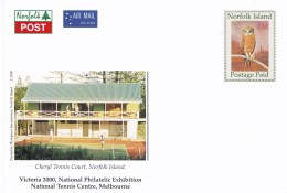 Norfolk Island 2000 Tennis Mint Postcard - Norfolkinsel