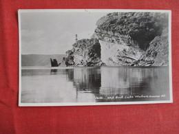New Zealand  RPPC--Ship Rock Lake Waikare Monnd Ref 2909 - New Zealand