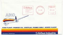 FRANCE => Enveloppe - Empreinte Mécanique AIRBUS - 31 Blagnac (Hte Garonne) - A 310 - Andere