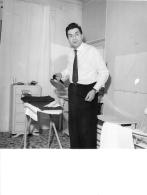 PHOTO  MICHEL GALABRU  FORMAT  24 X 18 CM - Célébrités