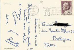 TIMBRO SU CARTOLINA: REFERENDUM TU SMO 1971 JUGOSLAVIA (203) - Slovenia
