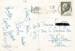 TIMBRO SU CARTOLINA: GOLF HOTEL BLED 1973  (205) - Slovenia
