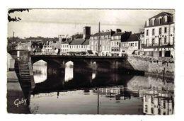 22 Lannion N°10 Pont De Sainte Ste Anne Prisunic Meubles Le Goff Société Générale Bar Tabac Hôtel - Lannion