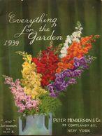 Catalogue 1939 Peter Henderson USA - Books, Magazines, Comics
