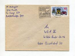 BRD UMSCHLAG 1986 PANZERMUSEUM MUNSTER LUNEBURGER HEIDE - [7] Federal Republic