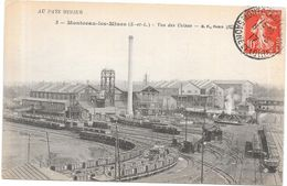 MONTCEAU LES MINES - 71 - Vue Des Usines - LYO86/ROUIL - - Montceau Les Mines