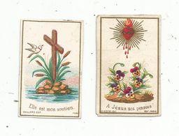 Image Pieuse , Religieuse , LOT DE 2 MINI IMAGES RELIGIEUSES - Devotion Images