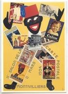 La Mondiale Cadum Banania Bovril Absinthe Thermos Biere Ancre Montivilliers 11è Salon Cartophile 1994 (Alinand Illus) - Advertising