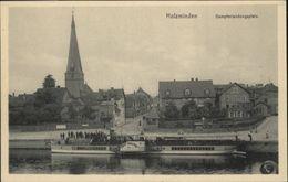 40876305 Holzminden Weser Holzminden Dampferlandungsplatz Dampfer Graf Moltke * - Holzminden