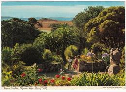 Tresco Abbey Gardens, Neptune Steps - Isles Of Scilly - (John Hinde Original)  - England - Scilly Isles
