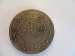 Somalia AFIS: 1 Somalo1950 (silver) - Somalie