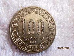 Chad: 100 CFA 1990 - Chad