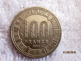 Chad: 100 CFA 1990 - Tchad