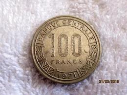 Congo-Brazzaville: 100 Francs CFA 1971 - Congo (République 1960)