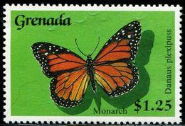 BB1932 Grenada 1989 Butterfly 1V MNH - Reptiles & Batraciens