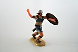 Elastolin, Lineol Hauser, H=40mm, Norman, Missing Sword - Plastic - Vintage Toy Soldier - Small Figures