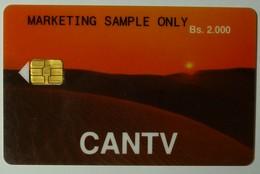 VENEZUELA - Chip - Cantv - GPT - Early Demo - Marketing Sample Only - Sunset - Bs. 2.000 - 30ex - Used  - RRR - Venezuela