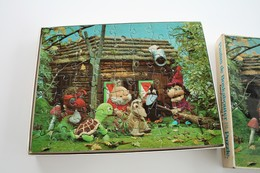 Vintage PAULUS DE BOSKABOUTER : Puzzel - 1974 - - Figurines