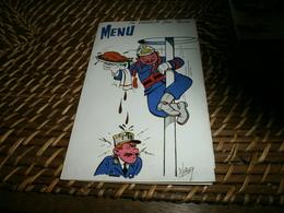 Vieux Papiers > Menus France > [61] Orne >  Sapeurs-Pompiers Sainte-gauburge Menu Sainte Barbe 1997 - Menus