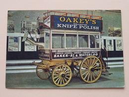 """London General Omnibus Cy """" OAKEY'S Wellington KNIFE POLISH ( J. Arthur Dixon ) Anno 1968 ( Zie Foto Details ) ! - Bus & Autocars"""