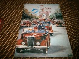 Militaria > Pompiers Vieux Papiers > Menus France > [61] Orne > Sapeurs-Pompiers Sainte-gauburge Menu Sainte Barbe 2001 - Pompiers
