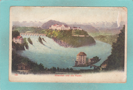 Small Post Card Of Rheinfall, Switzerland,R44. - BE Berne