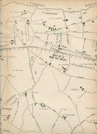 Compagnie Des Chemins De Fer De L'Ouest Ligne De Mortagne à Laigle Plan Général Mai 1884 - Europe