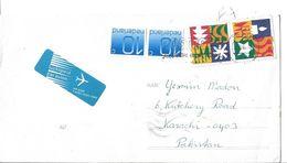 Nederland Airmail Cover 1994 Decemberzegels 55c, 1981 Numeral 10 C - Period 1980-... (Beatrix)