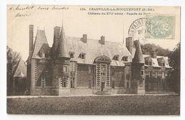 76 Crasville La Rocquefort. Chateau, Façade Sur Parc (026) - Other Municipalities
