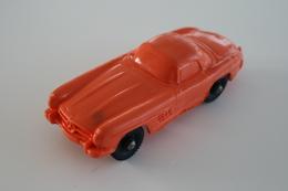 Vintage VINYL TOY CAR : Maker Tompte Lardal Stavanger Norway - Nr 5 Mercedes Benz SL300 - 9cm - Norway - 1960 - Rubber - Other