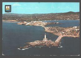 Ibiza - Isla Blanca - Illa Plana Y Valersino - Botafoch - Vista Aerea - 1963 - Ibiza