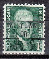 USA Precancel Vorausentwertung Preo, Locals Oregon, West Linn 841 - Vereinigte Staaten