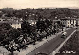 """07575 """"(LA SPEZIA) SARZANA - VIA LUIGI NERI""""  ANIMATA, CORRIERA. CART SPED 1957 - La Spezia"""