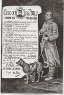 CREDO DU POILU  CREDO DES TRANCHEES        COMPOSE PAR NOEL REIRRAC - Guerre 1914-18