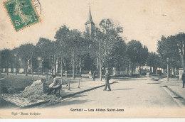 91 // CORBEIL    Les Allées Saint Jean    Edit Sigé, CARDEUR DE LAINE - Corbeil Essonnes