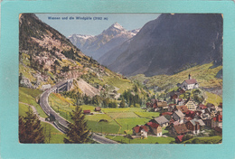 Small Post Card Of Wassen Und Die Windgälle Gotthardbahn,Switzerland,R44. - UR Uri