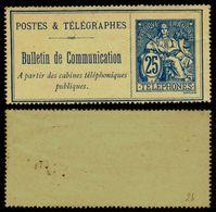 France Téléphone N° 24 Neuf (*) - Cote 60 Euros - TB Qualité - Telegraph And Telephone