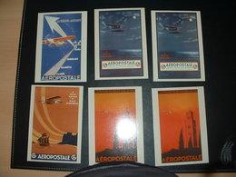 6 Cartes Aeropostale - Ohne Zuordnung