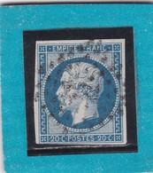 N° 14 A  PC  2221  NANTES  / LOIRE INFre   - REF 12118 + VARIETE - 1853-1860 Napoleon III