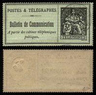 France Téléphone N° 20 Obl. Signé Calves - Cote 190 Euros - TTB Qualité - Télégraphes Et Téléphones