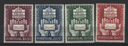 Portogallo 1949 Unif.726/29 **/MNH VF - 1910-... République